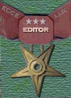 Editor - gold star