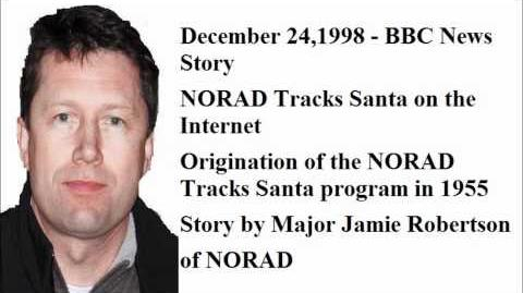 Dec 24, 1998 - BBC News Story - Origin of NORAD Tracks Santa by Major Robertson of NORAD