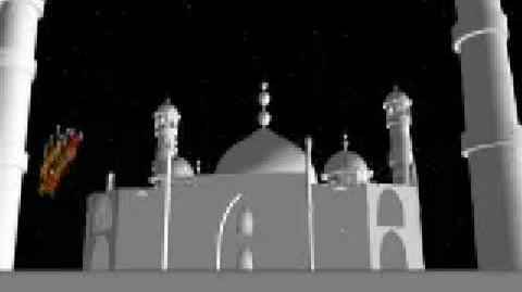 NORAD Tracks Santa - Dec 2002 - 07 - The Taj Mahal, India - English