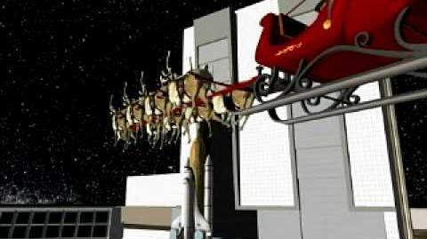 NORAD Tracks Santa - Dec 2005 - 18 - Cape Canaveral - FL - English