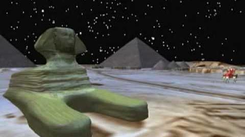 NORAD Tracks Santa - Dec 2006 - 10 - Pyramids - English