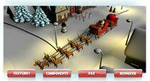 Santa sleigh explorer
