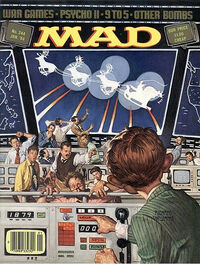 MAD Magazine – 1984-01 – NORAD Santa Track
