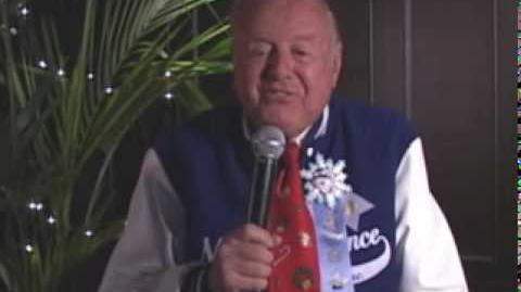 NORAD Tracks Santa - Dec 2005 - Dick Van Patten Celebrity Message