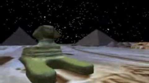 NORAD Tracks Santa - Dec 2007 - 11 - Pyramids - English