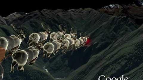 NORAD Tracks Santa 2009 - Machu Picchu, Peru