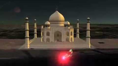 NORAD Tracks Santa 2008 - Taj Mahal