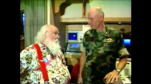 NTS - Santa Visit at NORAD in 2000