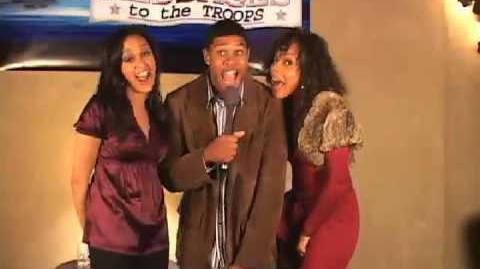 NORAD Tracks Santa - Dec 2006 - Tia Mowrey - Pooch Hall - Wendy Raque Robinson Celebrity Message