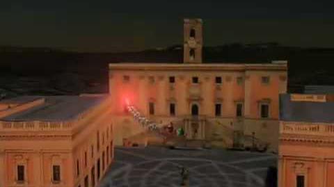 NORAD Tracks Santa 2008 - Rome, Italy