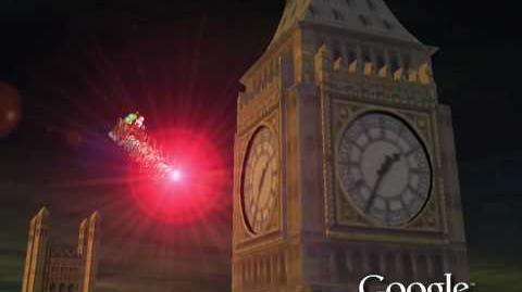 NORAD Tracks Santa 2009 - London, England