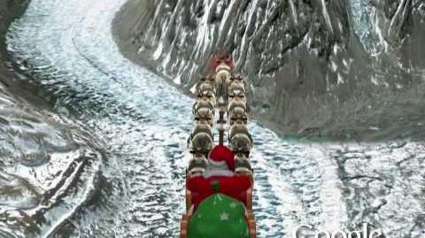 NORAD Tracks Santa 2009 - Mount Everest, Nepal