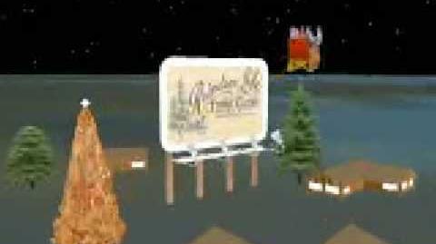 NORAD Tracks Santa - Dec 2002 - 22 - Reindeer Lake, Western Canada - English