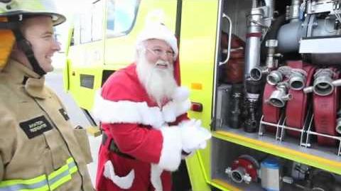 Airservices Tracks Santa - December 2011 - Santa Visits Aviation and Rescue