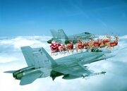 NORAD Jet Fighters Santa 2008