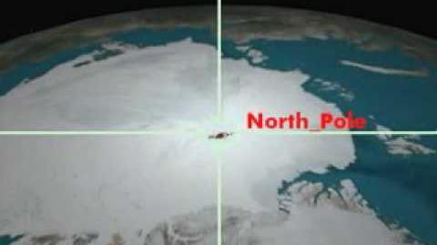 NORAD Tracks Santa - Dec 2006 - 01 - North Pole - English