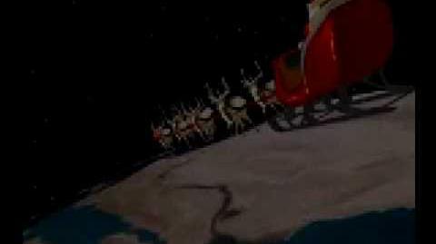 NORAD Tracks Santa - Dec 2004 - 10 - ISS and Pyramids - English