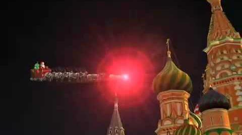 NORAD Tracks Santa 2008 - Moscow, Russia