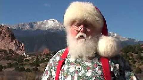NORAD Tracks Santa - Dec 2004 - Santa Claus Celebrity Message