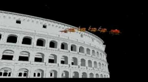NORAD Tracks Santa - Dec 2003 - 12 - Rome, Italy - English