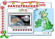 Wroxall Weather Tracks Santa Claus
