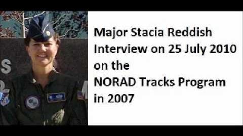 MAJ Stacia Reddish - NORAD Tracks Santa Interview - 2010-07-25