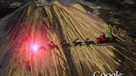 NORAD Tracks Santa 2009 - Fuji, Japan