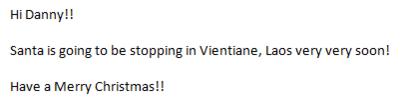 NTS E-mail Reply
