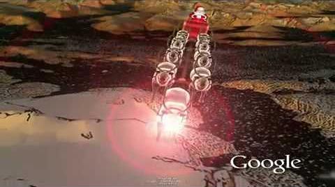 NORAD Tracks Santa 2009 - North Pole