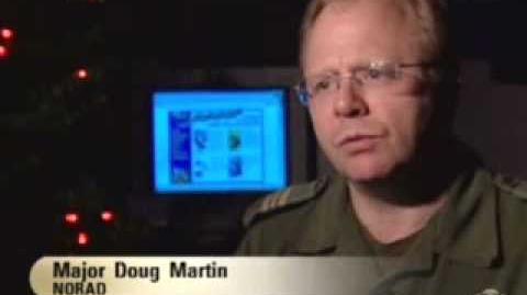 NORAD Tracks Santa Claus - CBC News Story - Dec 24, 2001