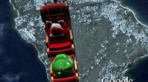 NORAD Tracks Santa 2009 - Reindeer Lake, Canada