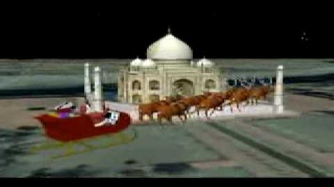 NORAD Tracks Santa - Dec 2003 - 07 - The Taj Mahal, India - English