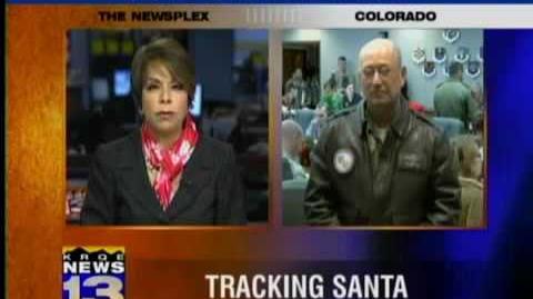 NORAD staff tracks Santa