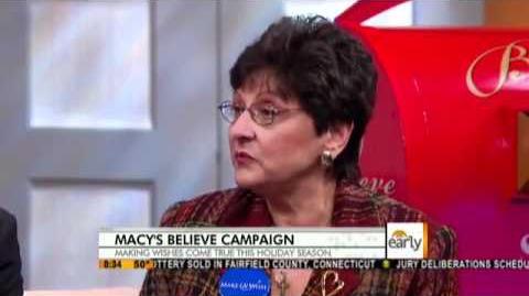 Macy's Kicks-Off Believe 2011 on CBS - The Early Show - 4 Nov 2011