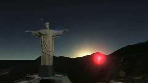 NORAD Tracks Santa 2008 - Rio de Janeiro, Brazil