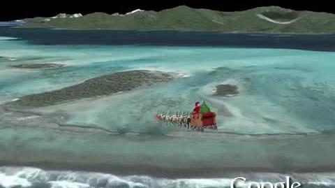 NORAD Tracks Santa 2009 - North Pacific Ocean