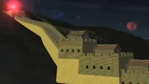 NORAD Tracks Santa 2008 - Great Wall of China