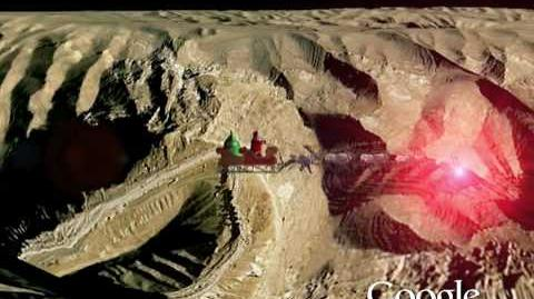 NORAD Tracks Santa 2009 - Pyramids, Egypt