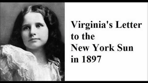 Virginia's Letter to the new York Sun in 1897