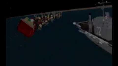 NORAD Tracks Santa - Dec 2004 - 08 - Persian Gulf - English