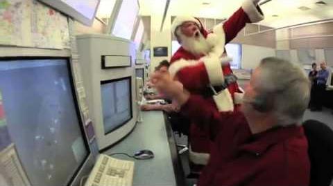 Airservices Tracks Santa - December 2011 - Santa Visits Air Traffic Control