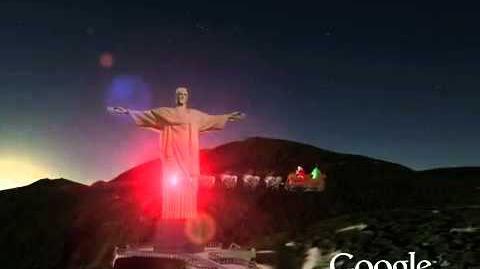 2010 - 18 - Rio de Janeiro - Brazil - NORAD Tracks Santa - English