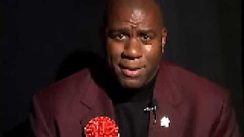 NORAD Tracks Santa - Dec 2004 - Magic Johnson Celebrity Message