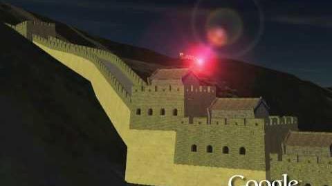 NORAD Tracks Santa 2009 - Great Wall of China