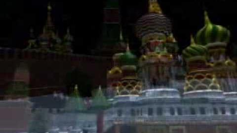 Norad tracks santa 2005 & 2006 - Moscow, Russia