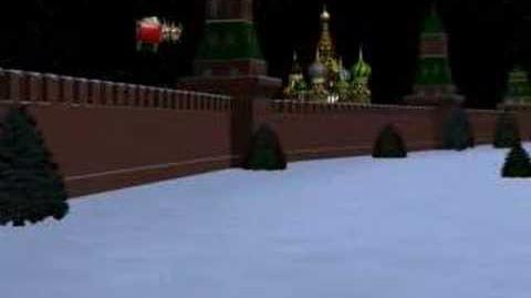 NORAD Tracks Santa 2007 - Moscow, Russia