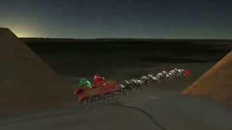 NORAD Tracks Santa 2008 - Pyramids, Egypt
