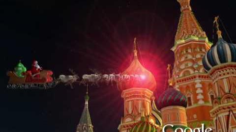 NORAD Tracks Santa 2009 - Moscow, Russia