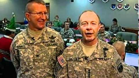 NTS - GEN Jacoby - COL Yowell - CBS Morning News - New York - 24 Dec 2011