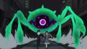 Yato and Hiyori being chased